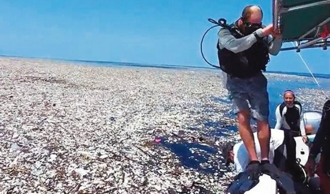 La isla de basura del Pacífico crece a un ritmo preocupante