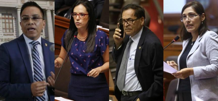 Congresistas opinan sobre declinación de fiscales Almanza y Páucar