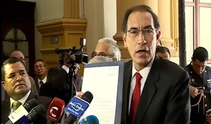 Martín Vizcarra saludó restitución de Rafael Vela y Domingo Pérez al Equipo Especial