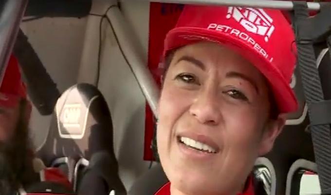 Fernando Kanno y Gianna Velarde terminaron primera etapa del Dakar