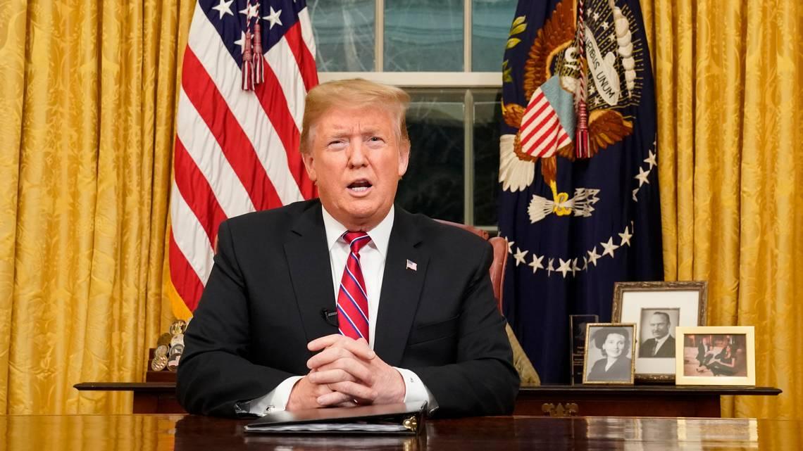 Donald Trump señala que hay crisis de inmigración en los Estados Unidos