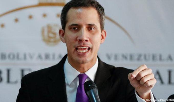Parlamento Europeo reconoció oficialmente a Juan Guaidó como presidente interino de Venezuela