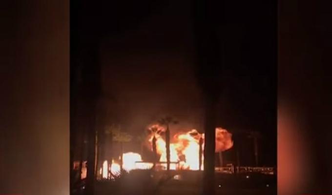 Asia: incendio y explosión en exclusivo club dejó una persona herida