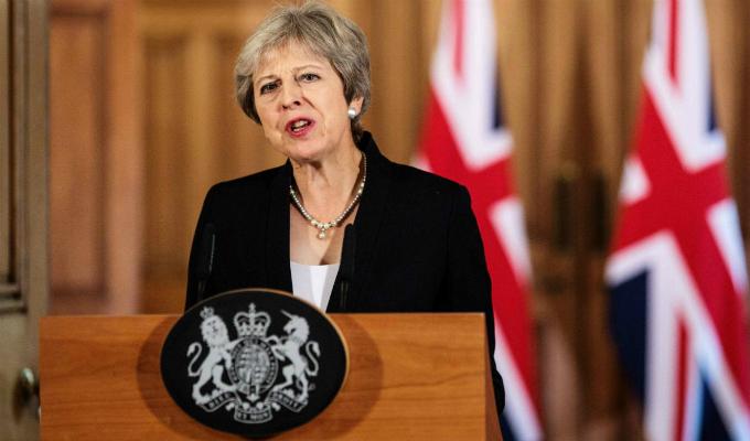 Theresa May pedirá prórroga a la UE para el 'Brexit'