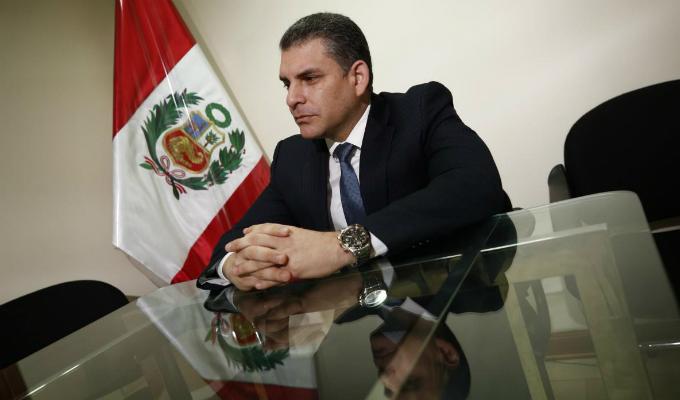 Rafael Vela presentó recurso de nulidad a recusación contra Richard Concepción Carhuancho