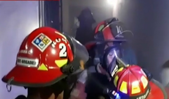 Centro de Lima: mujer habría ocasionado incendio en oficina de abogado