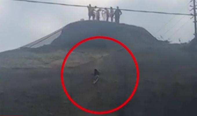 Adolescente salva de morir tras caer desde acantilado de la Costa Verde
