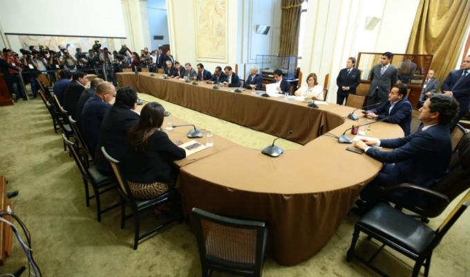 Consejo Directivo del Congreso aprobó recomposición de comisiones parlamentarias