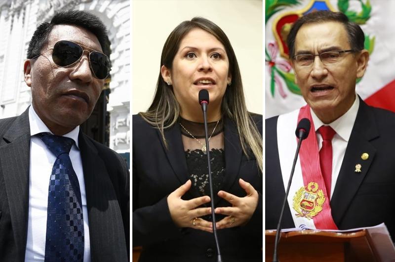 Vilcatoma pide a Martín Vizcarra aclarar si se reunió con Mamani antes de ser presidente