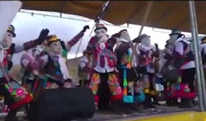 Junín: Danzantes de tunantada bailando reguetón desatan polémica