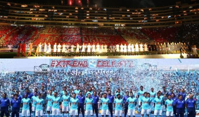 Universitario y Cristal presentaron a sus equipos