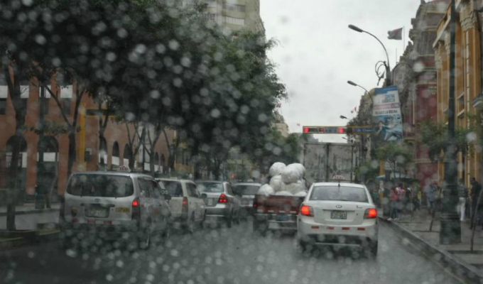 Senamhi: esta semana continuarán lloviznas en Lima