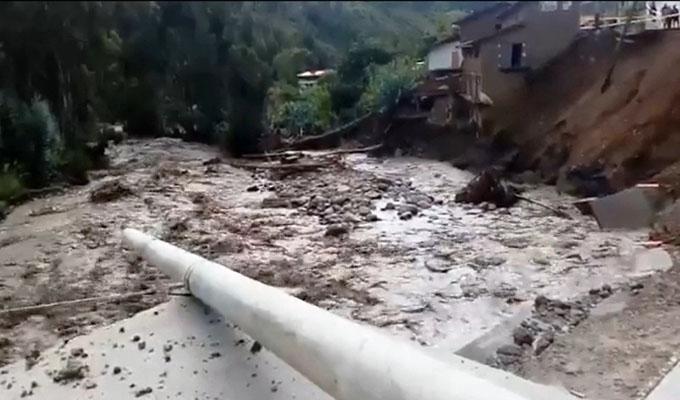 Un muerto y 20 familias damnificadas dejan las intensas lluvias en Áncash