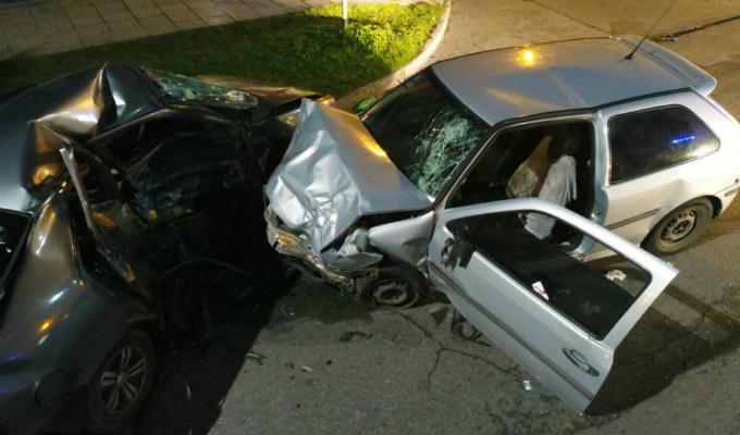 Rímac: tres heridos tras choque en Av. Guardia Republicana