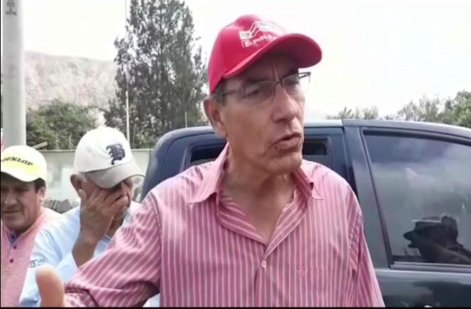 Presidente Vizcarra pide unidad para superar emergencias por huaicos