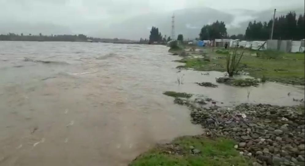 Se registra primer desborde de río Mantaro en Junín