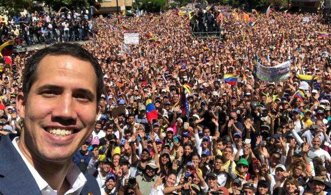"""""""¡Venezuela, tenemos fecha!"""": Guaidó anunció que 23 de febrero ingresará ayuda humanitaria a su país"""
