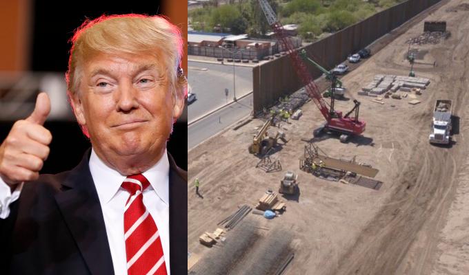 """Donald Trump dice estar """"100%"""" listo para cerrar frontera con México"""