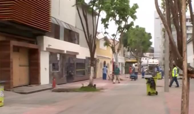 Miraflores: reabren locales de la calle de Las Pizzas por San Valentín