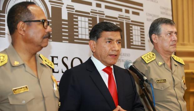 Mininter realiza investigación interna en la PNP ante fuga de César Hinostroza