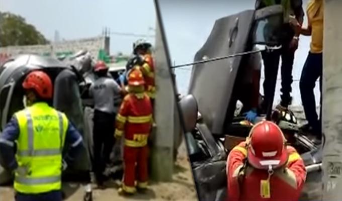 Chancay: un muerto tras choque de camioneta en Panamericana Norte