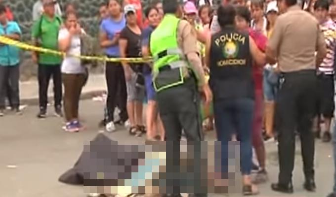 La Victoria: hallan cadáver de hombre frente al Mercado de Frutas