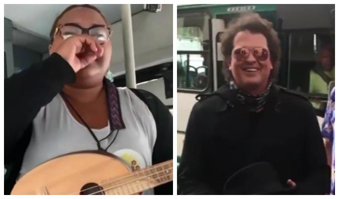 Reymar Perdomo: el día que Carlos Vives cantó 'Me fui' con ella