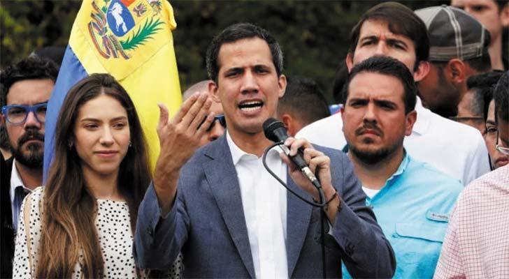Juan Guaidó convoca gran marcha para acompañar ingreso de ayuda humanitaria a Venezuela