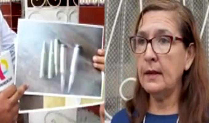 SMP: envían arreglo floral con balas a dirigente vecinal