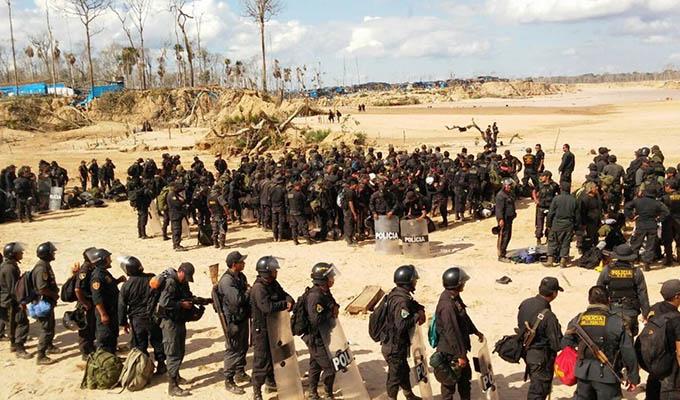 Minería ilegal: autoridades ejecutan amplio operativo en La Pampa
