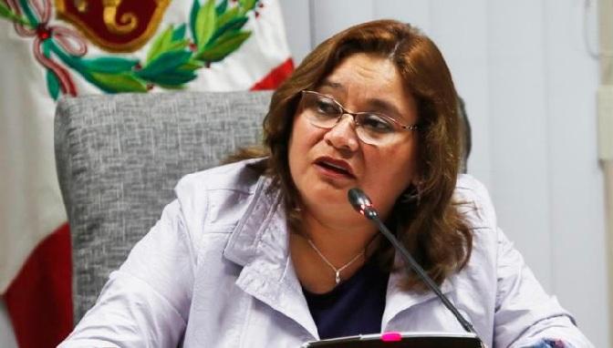Janet Sánchez pide disolver Comisión de Ética si declaran fundado recurso de Salaverry