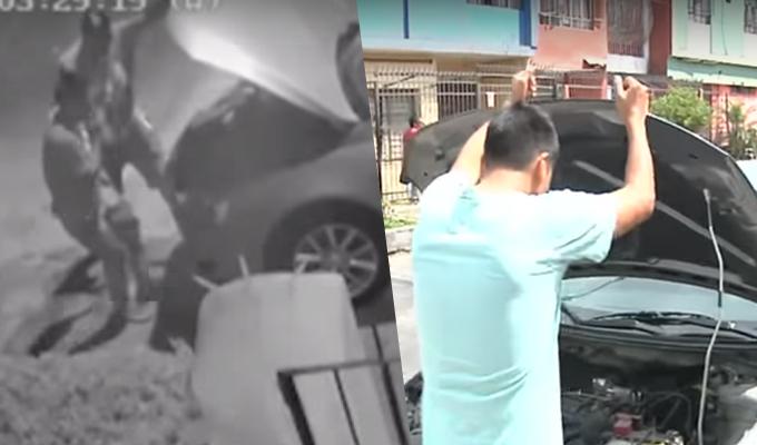 Se incrementa robo de autopartes en las calles del Rímac
