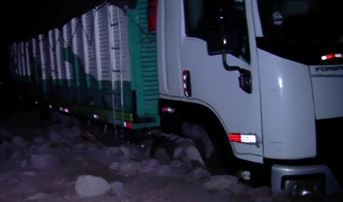 Huarochirí: Carretera Central quedó bloqueada tras caída de huaico