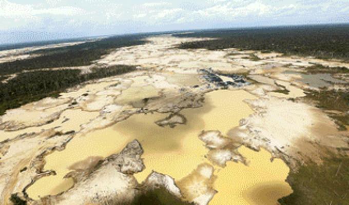 La Pampa: megaoperativo busca acabar con la minería ilegal