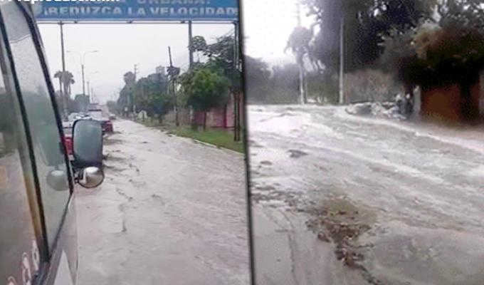 Huaico afecta varios kilómetros de la Carretera Central en Chosica