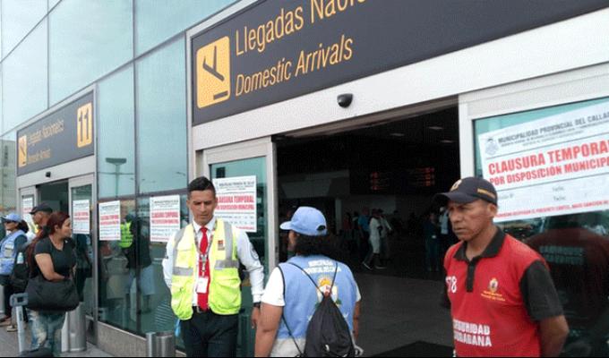 MTC denunciará a funcionarios del Callao por cierre de aeropuerto Jorge Chávez