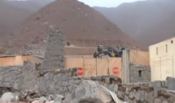 Lotizan terrenos ubicados a pocos metros de una quebrada en Chaclacayo