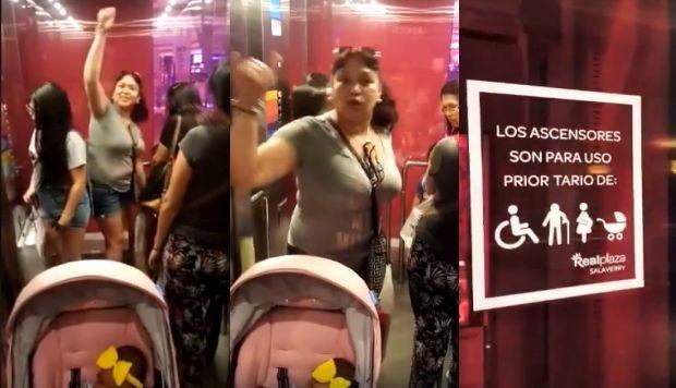 Se pronuncia mujer acusada de impedir que padre y su bebé ingresen a un ascensor