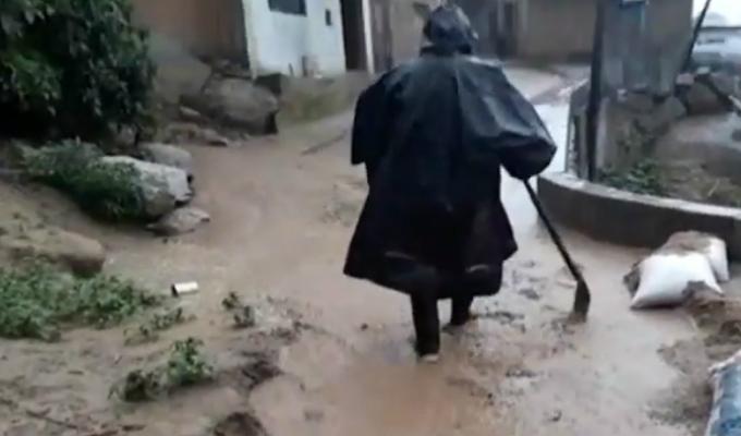 Áncash:  desborde de río afecta decenas de viviendas en Huaraz