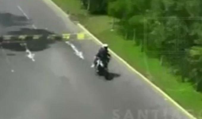 Surco: 'marca' herido de bala durante asalto a empresario