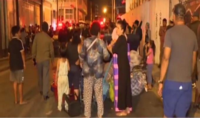 Cercado de Lima: realizan violento desalojo en edificio multifamiliar