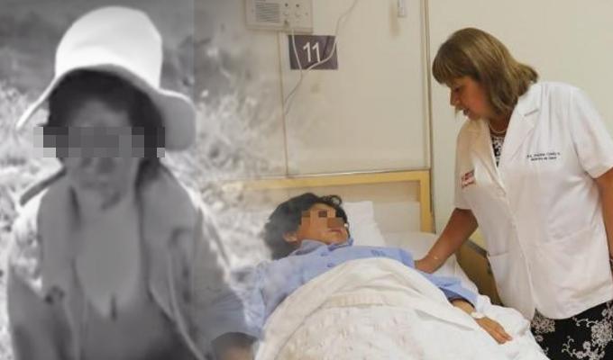 Ministra de Salud brinda apoyo para mujer atacada con un desarmador