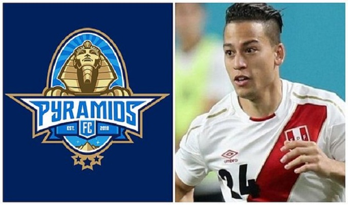 Cristian Benavente: Pyramids FC lo felicitó por convocatoria con la 'bicolor'