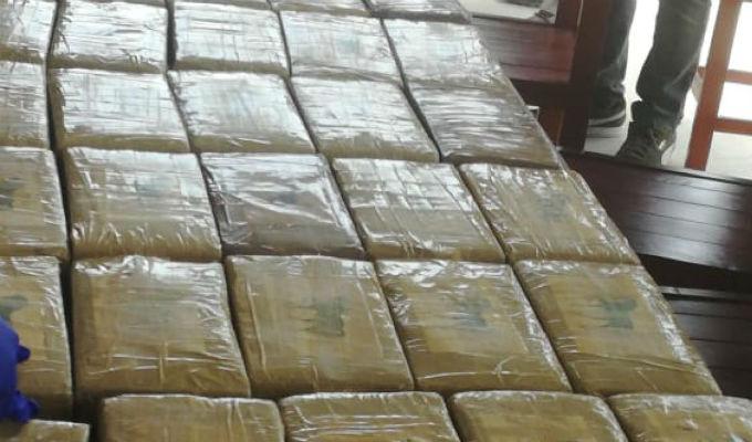 La Libertad: decomisan dos toneladas de cocaína en altamar
