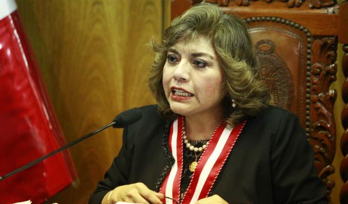 Zoraida Ávalos anunció la creación de más Fiscalías Especializadas en Violencia Contra la Mujer