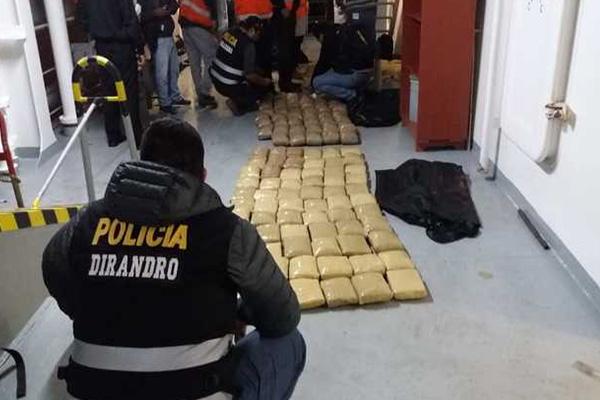 Mafia 'Los Patrones de la Bahía' caen con dos toneladas de droga en embarcación pesquera