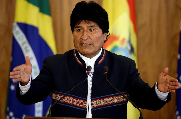 Evo Morales lamenta muerte de boliviano tras derrumbe en mina en Chile