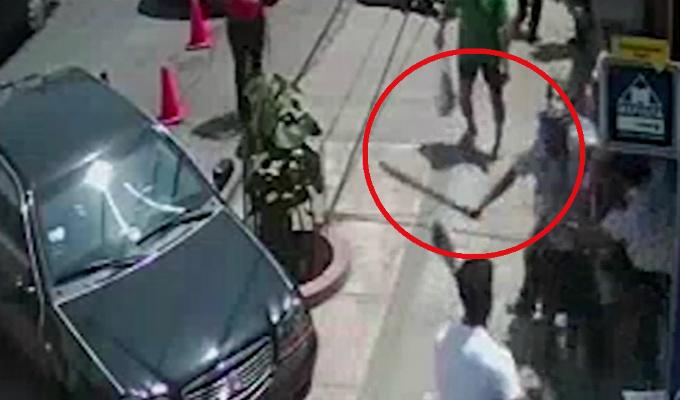 Magdalena: sujeto ataca con un machete a dueño de ferretería