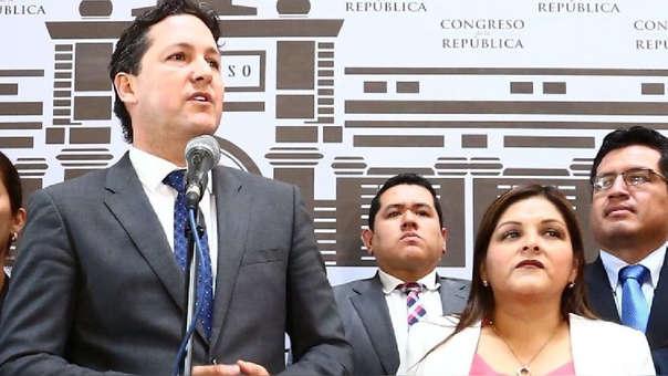 Daniel Salaverry denuncia que Fuerza Popular quiere sacarlo de la presidencia del Congreso