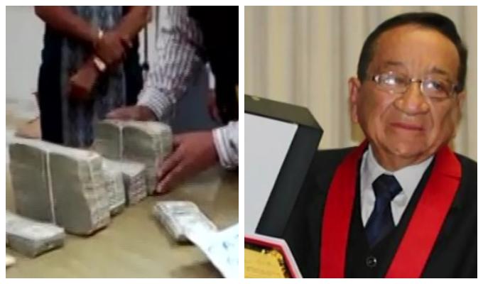 EXCLUSIVO: incautan casi medio millón de dólares que guardaba fallecido juez de Lima Norte